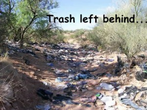 trash in arizona