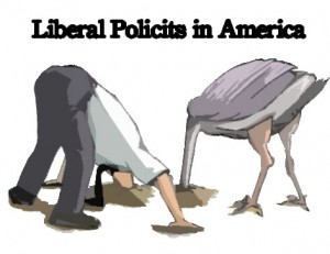 liberals heads in the sand?