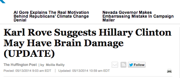 Hillary Brain Damage